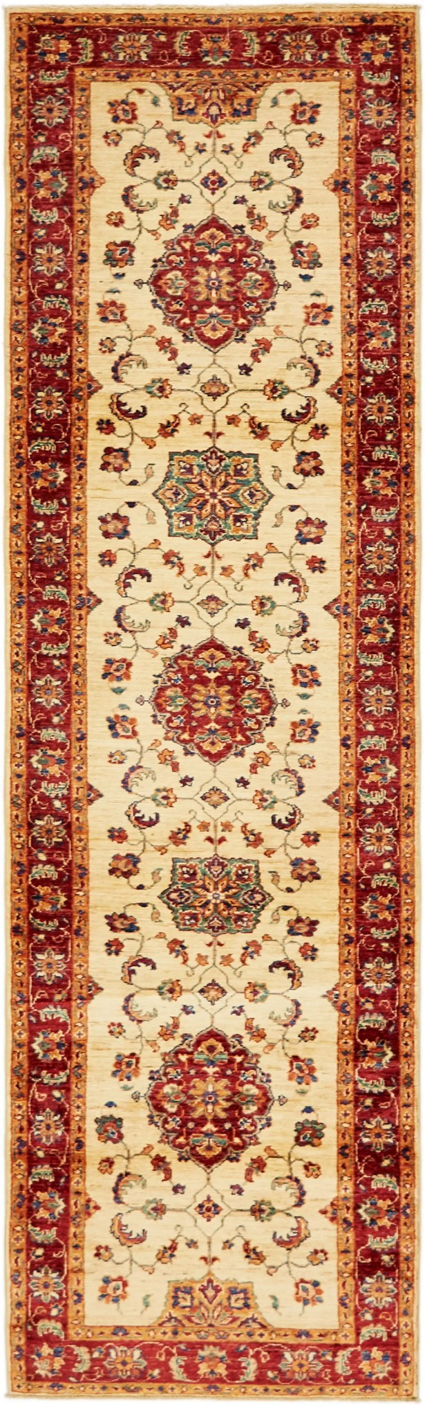 One-of-a-Kind Huntingdon Runner Hand-Knotted  2'8