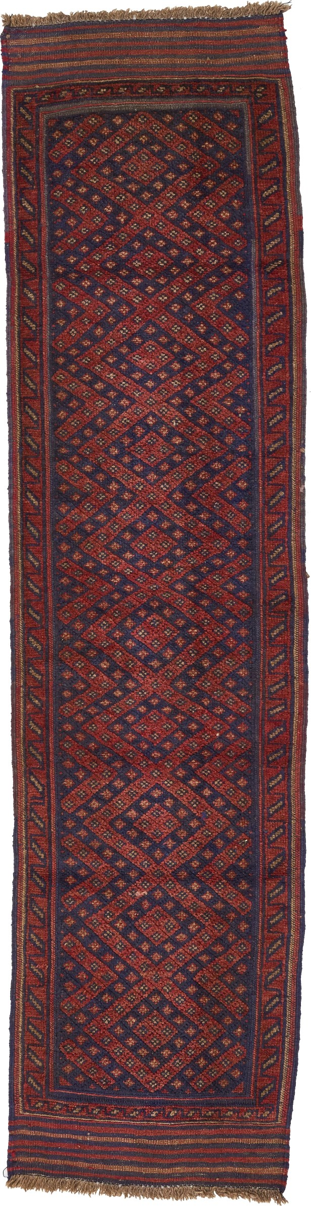 One-of-a-Kind Earley Hand-Knotted Wool Brown Area Rug
