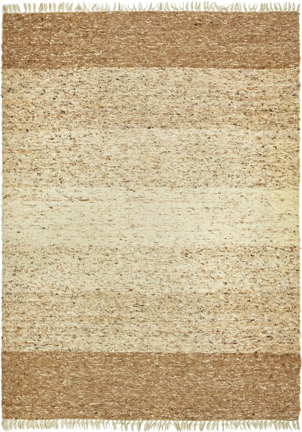 One-of-a-Kind Northfleet Hand-Knotted Wool Beige/Brown Area Rug