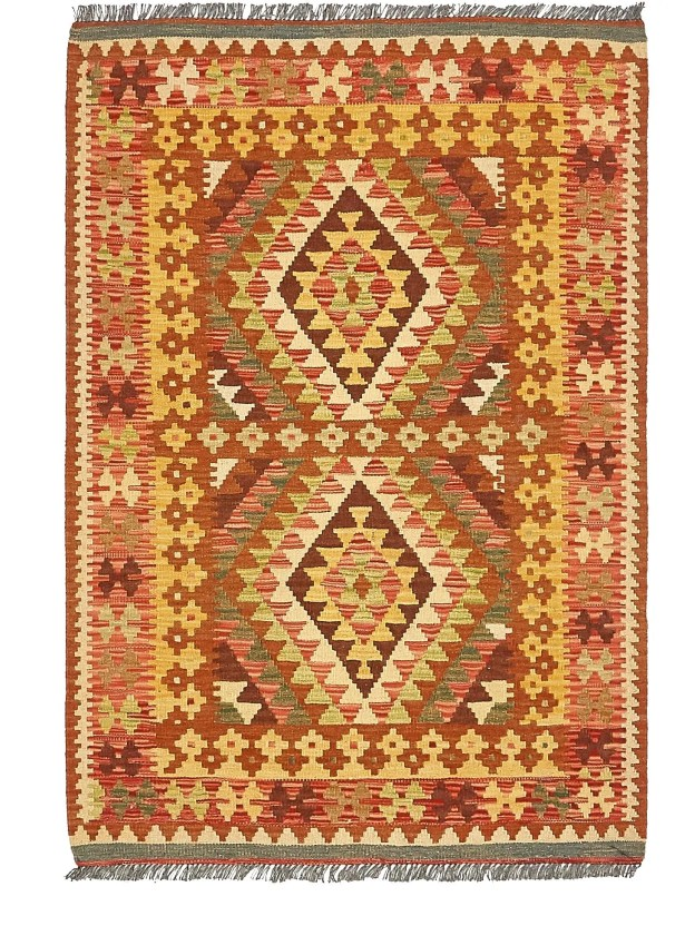 One-of-a-Kind Doorfield Hand-Knotted Wool 3'4