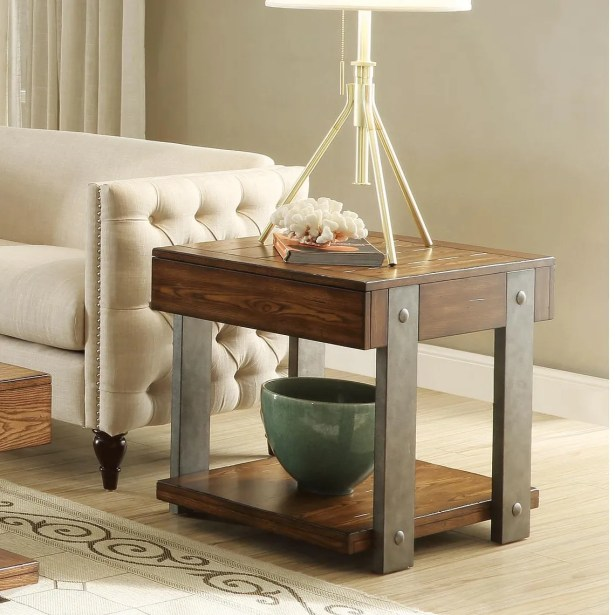 Folkeste End Table with Storage