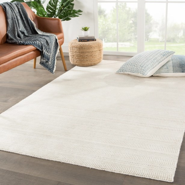New Haven Handmade Dhurrie Ivory Area Rug Rug Size: Rectangle 8'10