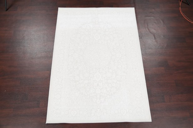 Remerton Beige/Ivory Area Rug Rug Size: Rectangle 7'9