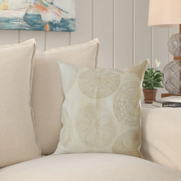 Mccormack Nautical Pillow Size: 22