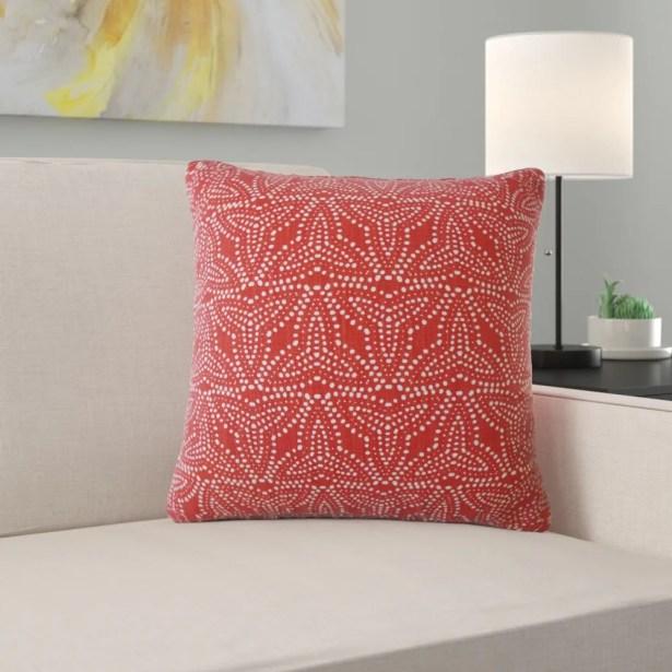 Enid Geometric Pillow Size: 24