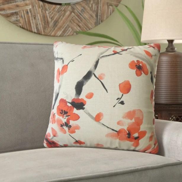 Miral Throw Linen Pillow Size: 20