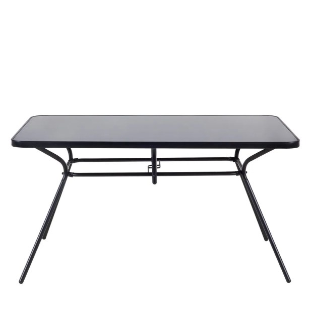 Tardiff Stainless Steel Dining Table