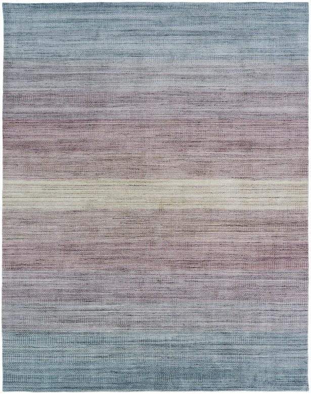 Macclesfield Handmade Wool/Silk Pink Area Rug Rug Size: Rectangle 9'6
