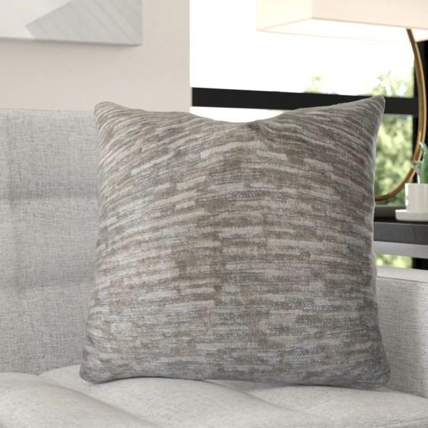 McCabe Luxury Throw Pillow Size: 20