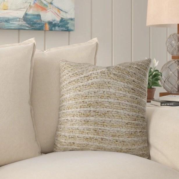 Cavazos Luxury Throw Pillow Size: 12