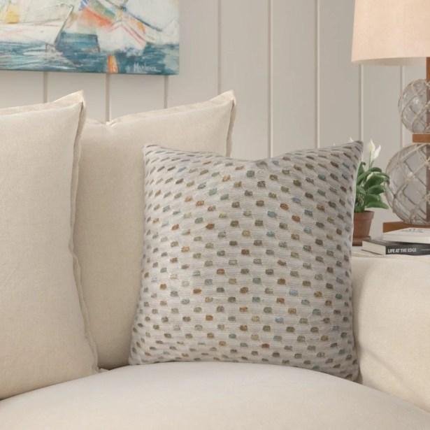 Linzy Luxury Throw Pillow Size: 18