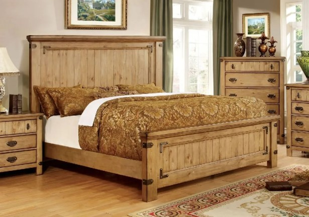 Street Panel Bed Size: California King