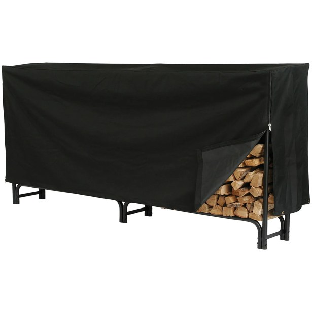 Deluxe Log Rack Cover Size: 38