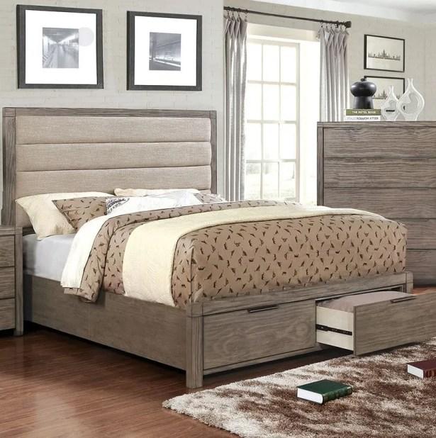 Elowen Upholstered Storage Platform Bed Size: King