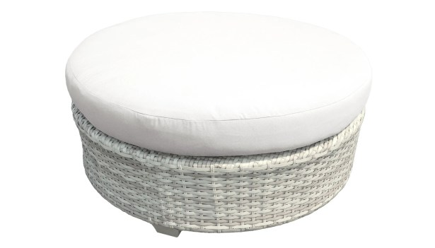 Ansonia Round Coffee Table Color: White