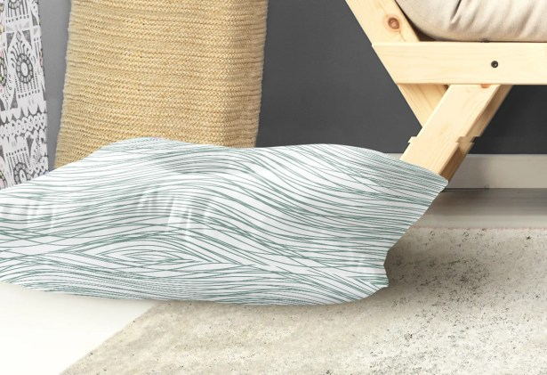 Flow Indoor/Outdoor Floor Pillow Size: 26