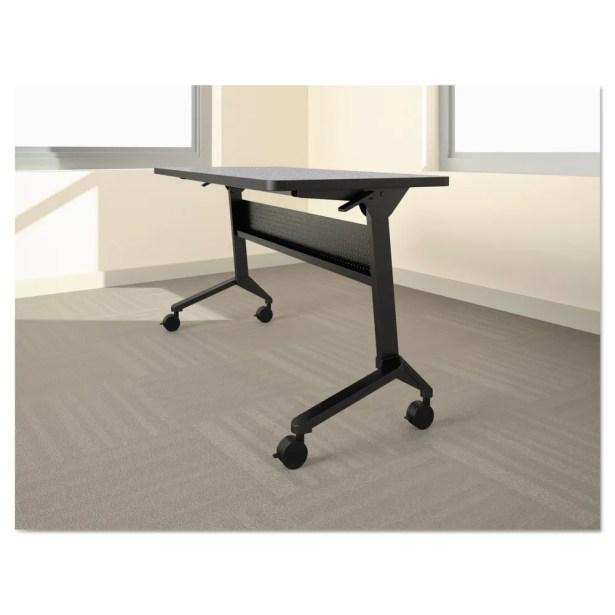 Flip-N-Go Table Base Table Base Finish: Silver, Table Base Size: 27.88