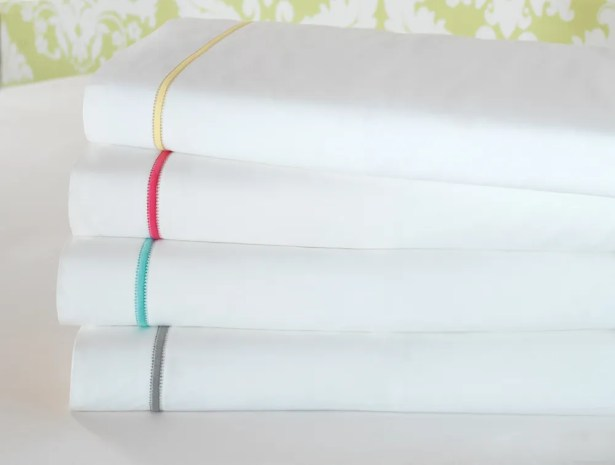 Gala 4 Piece 200 Thread Count Egyptian-Quality Cotton Sheet Set Color: Dove, Size: California King