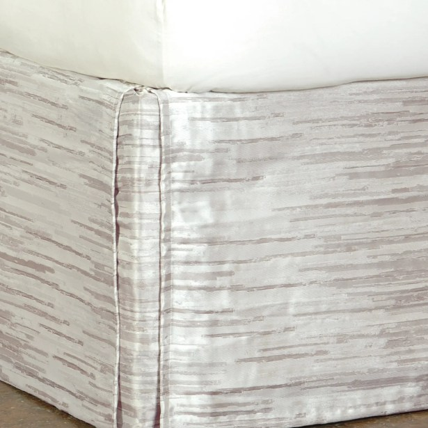 Pierce Horta Bed Skirt Size: Full, Color: Putty