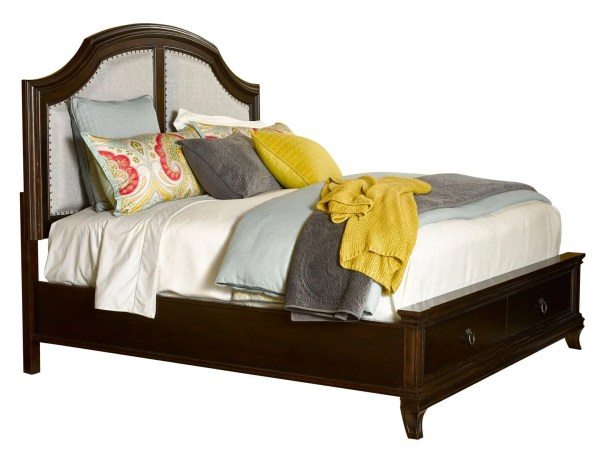 New Charleston Upholstered Storage Panel Bed