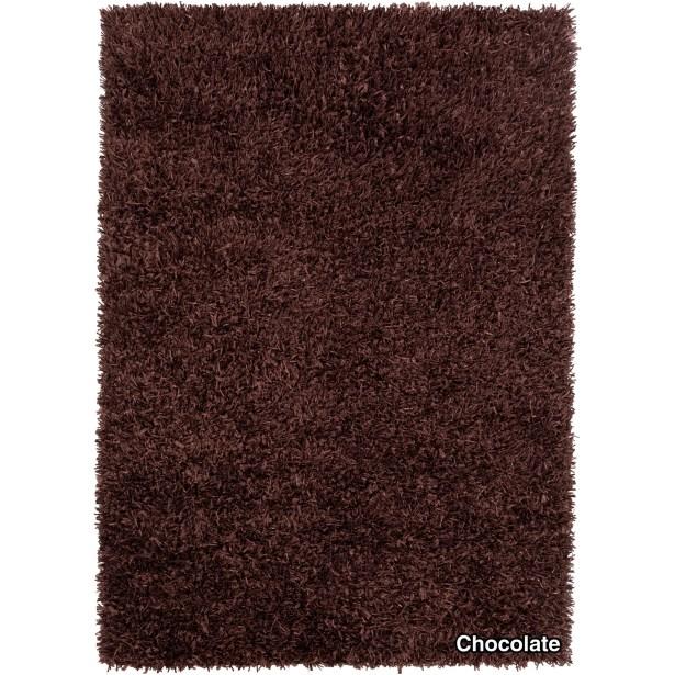 Vinoe Dark Brown Area Rug Rug Size: 5' x 7'6