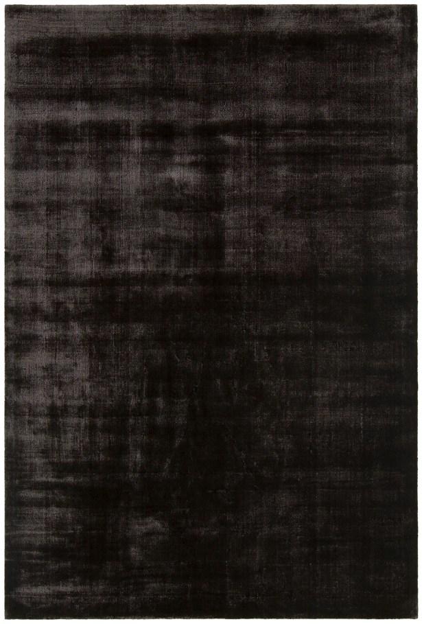 Steffen BlackDark Grey Hand Woven Area Rug Rug Size: 5' x 7'6