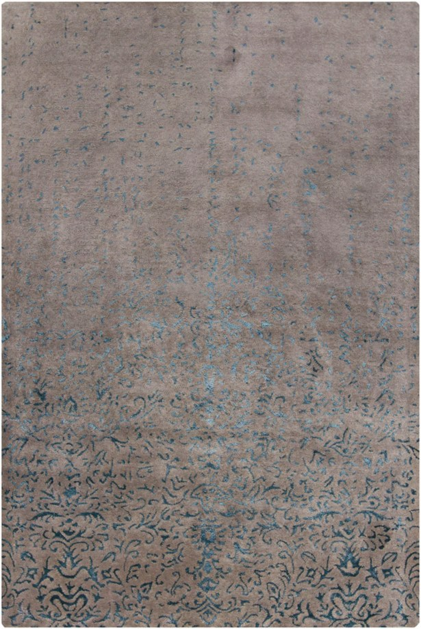 Holt Grey Abstract Area Rug Rug Size: 7'9