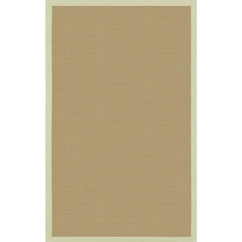 Eastwood Green/Tan Area Rug Rug Size: Square 8'