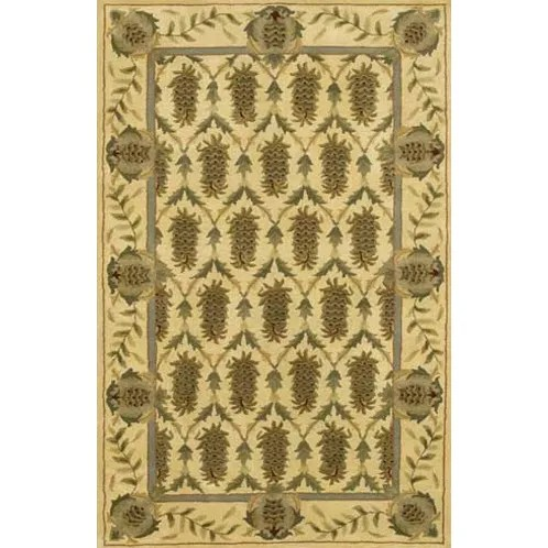 Stonewood Brown/Tan Area Rug Rug Size: Runner 2'6