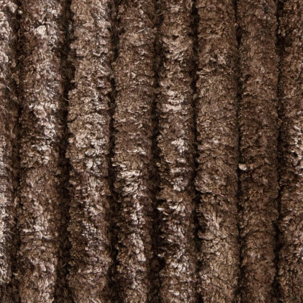 Nathen Textured Solid Brown Area Rug Rug Size: 5' x 7'6