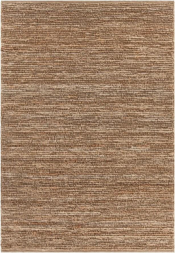 Lilliana Hand-Woven Textured Jute Area Rug Rug Size: Rectangle 7'9