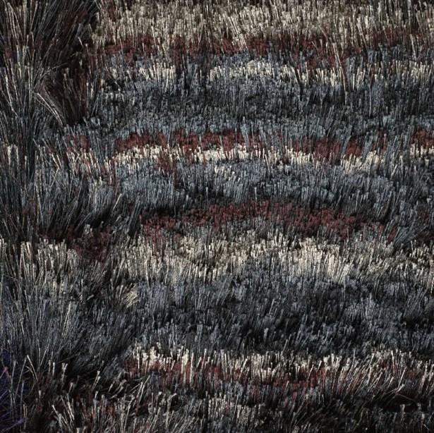 Cyrill Black/Gray Area Rug Rug Size: 9' x 13'