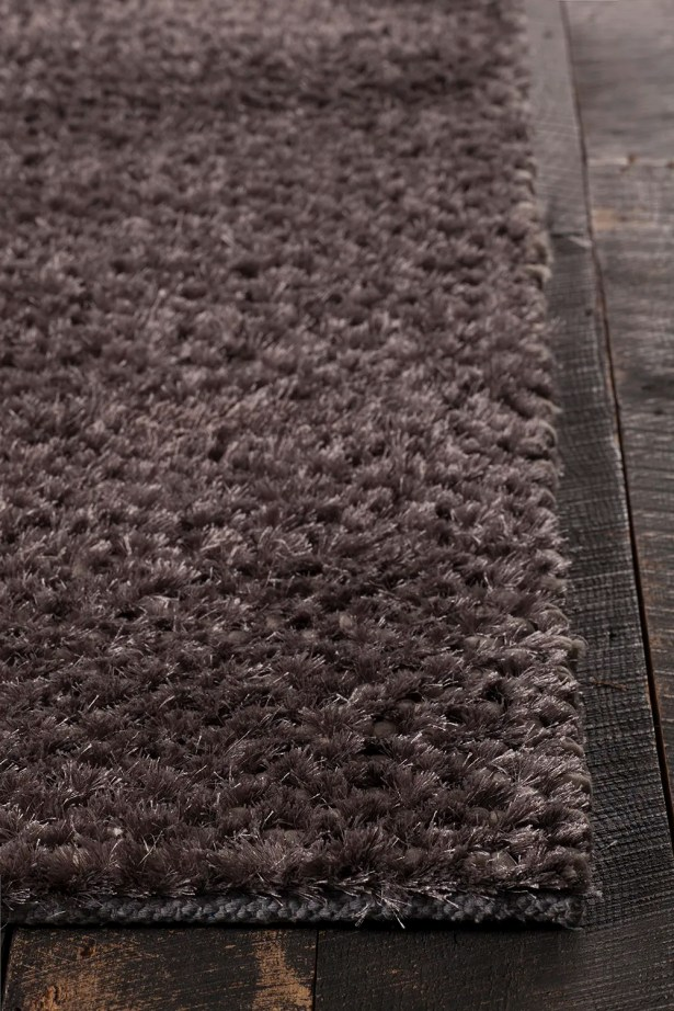 Janey Hand-Woven Gray Area Rug Rug Size: 9' x 13'