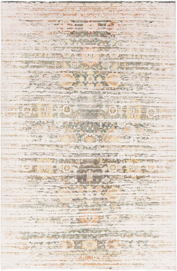 Rodericks Hand-Knotted Beige Area Rug Rug Size: 5' x 7'6