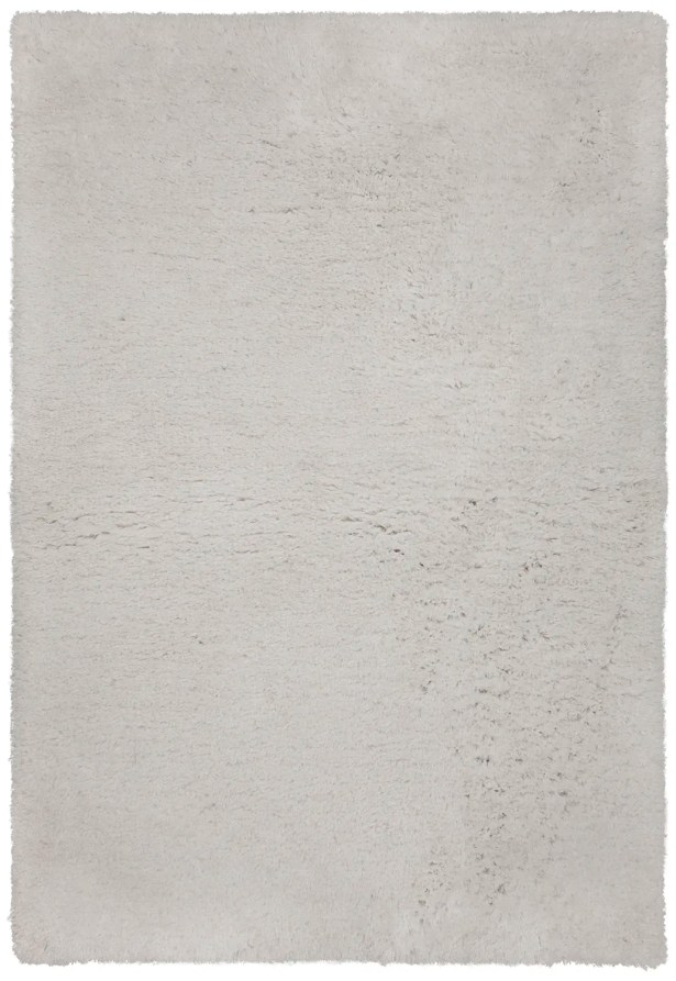 Salyers Hand-Tufted White Area Rug Rug Size: 5' x 7'6