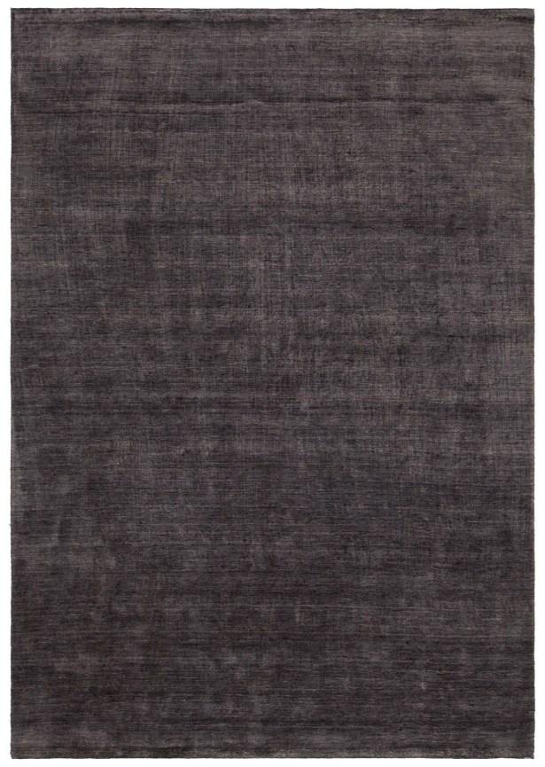 Devonta Hand-Woven Black Area Rug Rug Size: 7'9