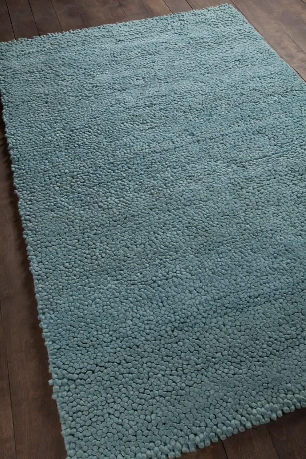 Strata Blue Area Rug Rug Size: Rectangle 5' x 7'6