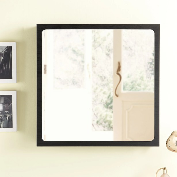 Monte Wall Mounted Jewelry Armoire with Mirror