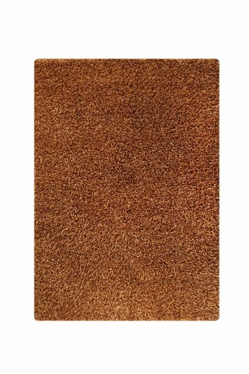 Balic Gold Solid Area Rug Rug Size: 5'2