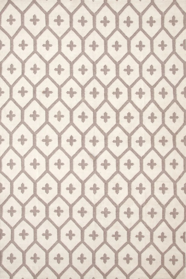 Elizabeth Vintage Hand Woven Brown/Tan Indoor/Outdoor Area Rug Rug Size: Rectangle 5' x 8'