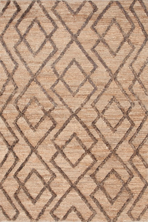 Marco Oak Cut-pile Brown Area Rug Rug Size: Rectangle 2' x 3'