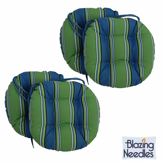 Indoor/Outdoor Patio Chair Cushion Color: Haliwell Multi