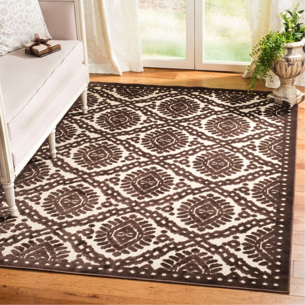 Hand-Loomed Burl Area Rug Rug Size: Rectangle 5'3