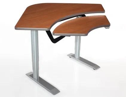 59'' W Vox Height Adjustable Training Table Tabletop Finish: Living Teak