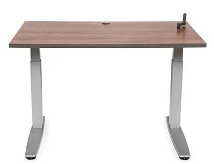 Equity Utility Height Adjustable Training Table Tabletop Finish: Fresh Canvas, Size: 38