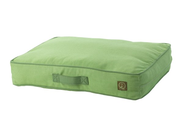 Siesta Spanish Outdoor Classic Dog Pillow Size: Small (27