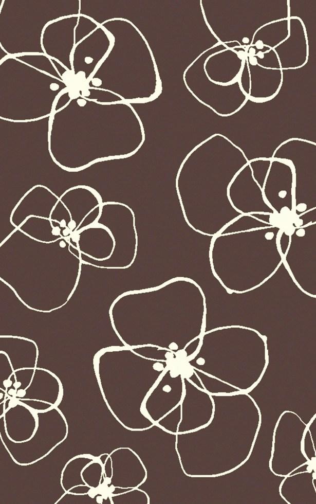 Textila Hand Woven Wool Chocolate Area Rug Rug Size: Rectangle 8' x 11'