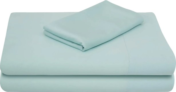 Rayon from Bamboo Bed Sheet Set Color: Rain, Size: Extra-Long Twin
