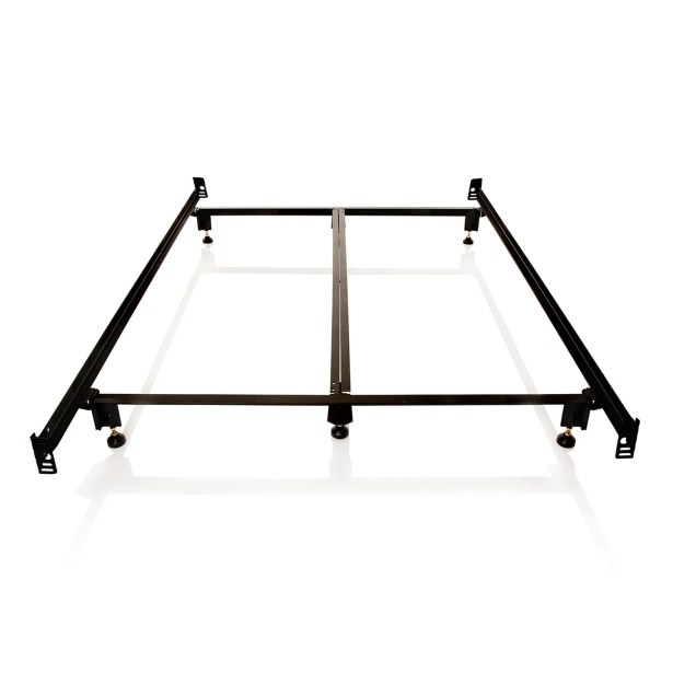 Daggett Steelock Metal Bed Frame Size: California King