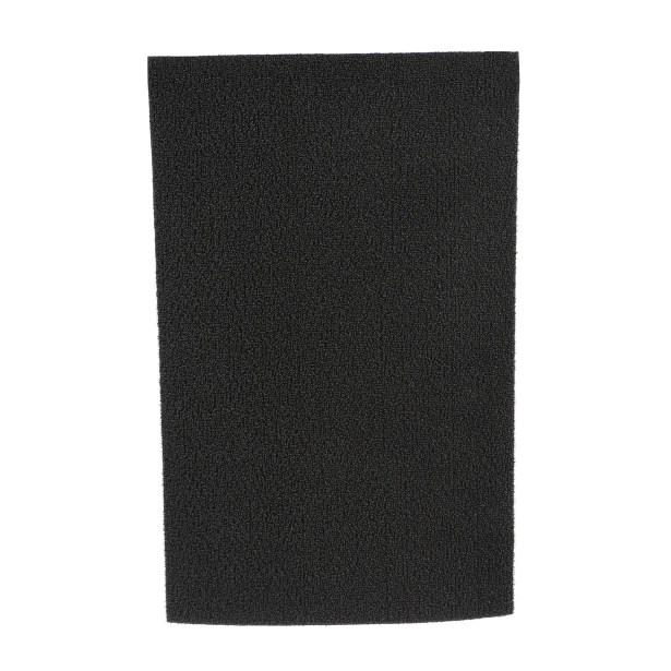 Shag Solid Doormat Color: Solid Mercury, Mat Size: Rectangle 24